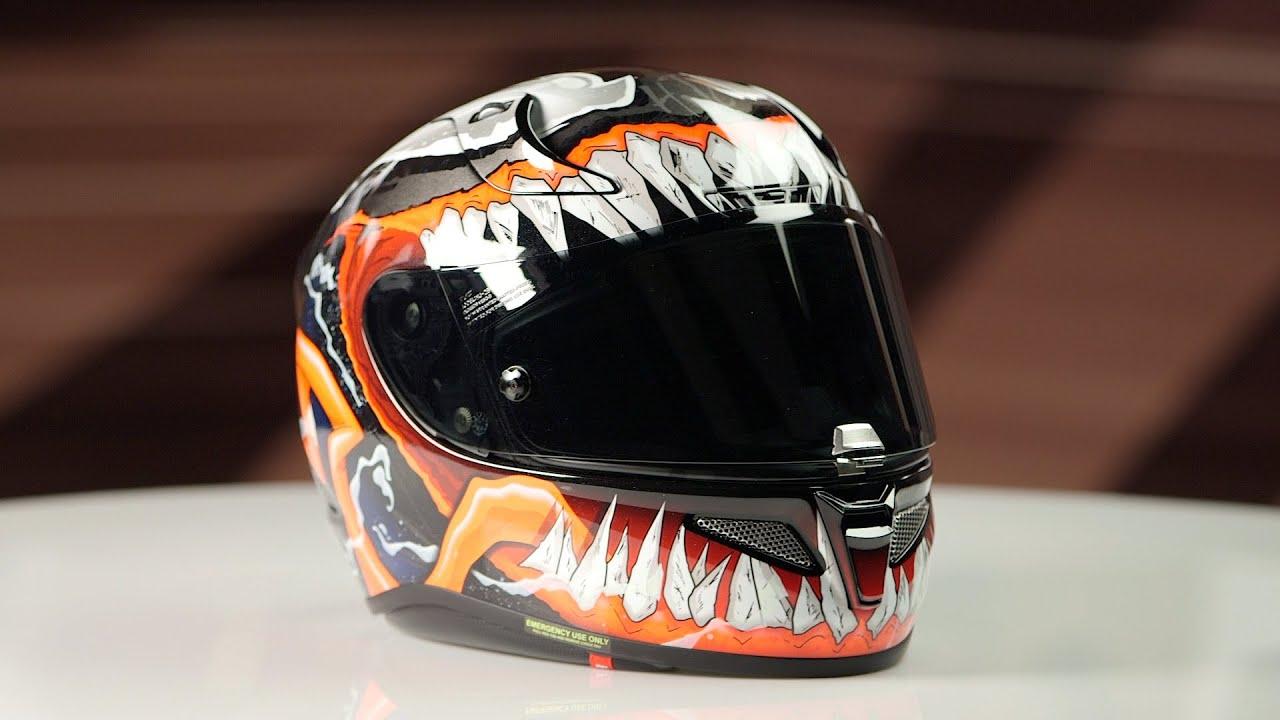 Hjc Rpha 11 >> HJC RPHA 11 Pro Venom 2 Helmet Review - YouTube