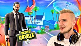 JOHN WICK CHALLENGES + NEW SKIN coming!🔥-Fortnite Battle Royale