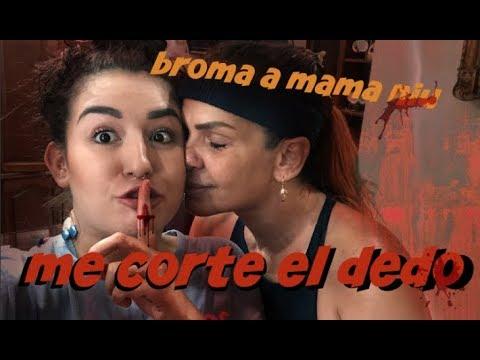 BROMA A MI MAMA (NIURKA) SALE MAL! (Me corto el dedo) / Romi Marcos