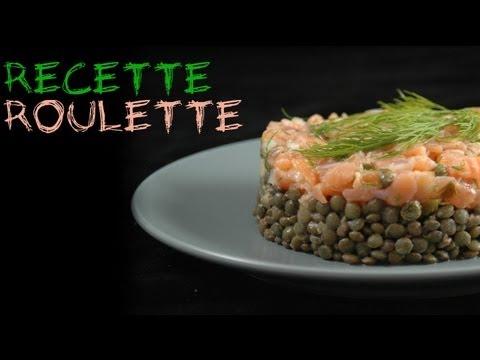 Recette : Tartare de saumon et salade de lentilles !