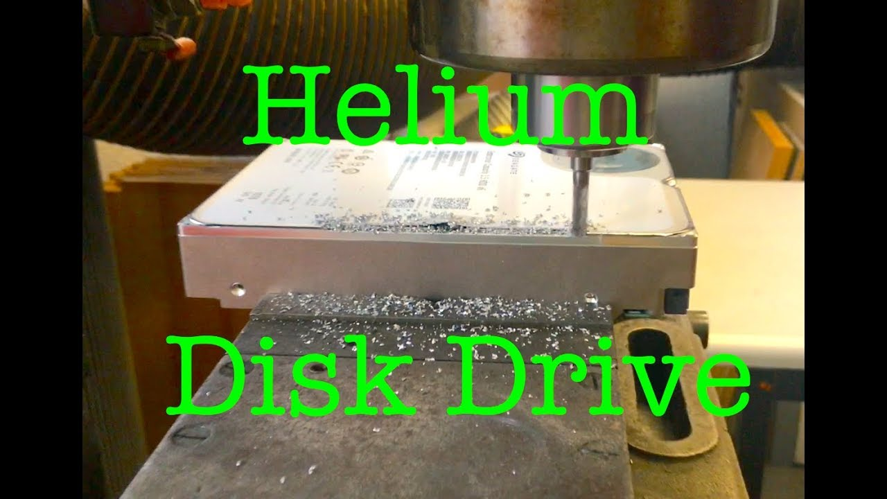10TB Helium disk drive, what's inside? (PWJ128)