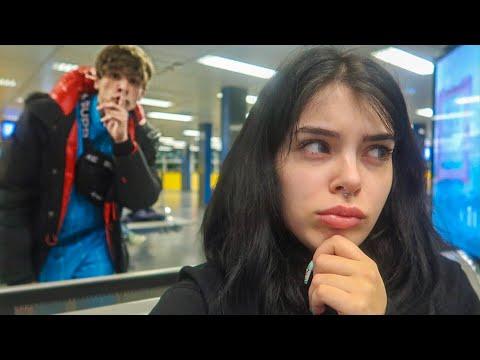 HO ABBANDONATO la MIA RAGAZZA in AEROPORTO!!!