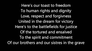 Anti Flag - Toast To Freedom lyrics