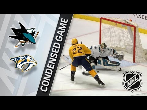 San Jose Sharks vs Nashville Predators– Feb. 22, 2018 | Game Highlights | NHL 2017/18. Обзор