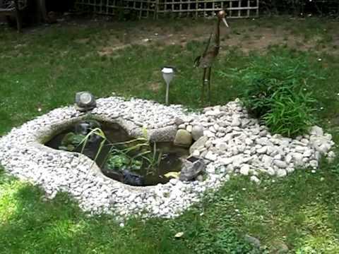 Prächtig Springbrunnen für den Miniteich @JO_43