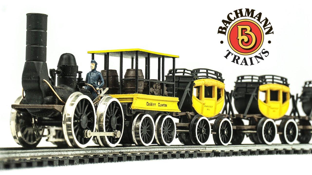 Vintage Bachmann HO-Scale 40-130 The Dewitt Clinton Electric Model Train Set Unboxing & Review