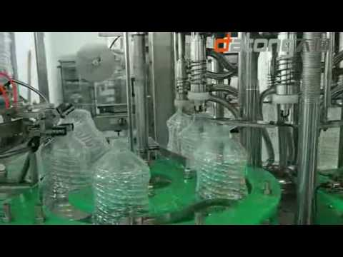 1000BPH 5 liter water complete filling production line from DATONG