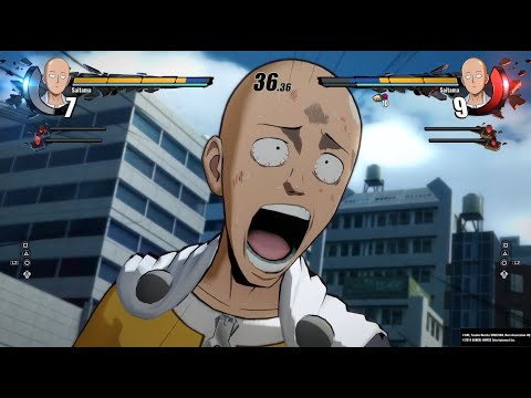 One Punch Man: A Hero Nobody Knows | Saitama vs Saitama - TGS 2019 Gameplay