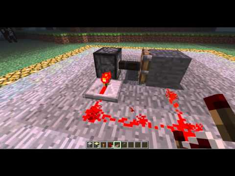 How to make a redstone repeater on minecraft (Super easy!)