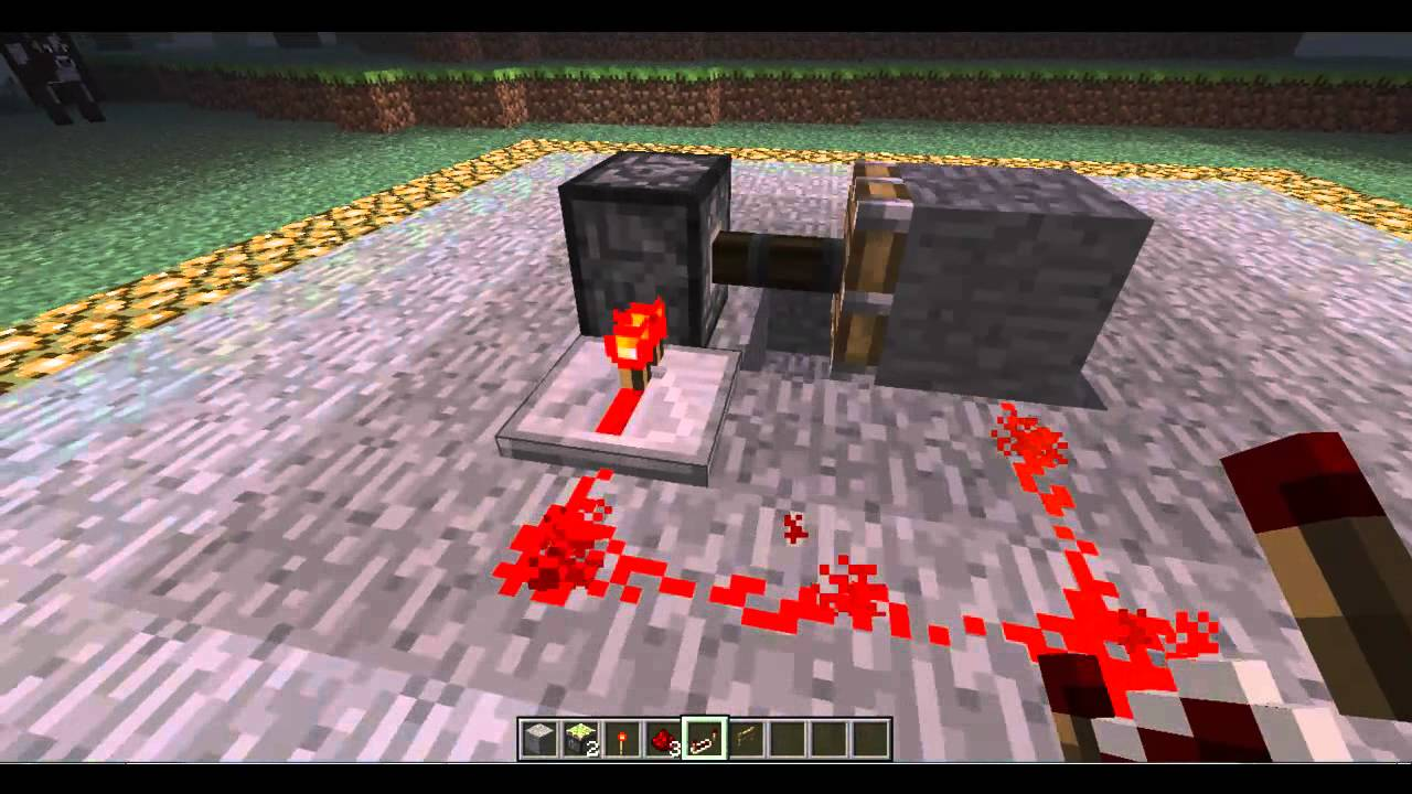 how to make a redstone repeater on minecraft super easy youtube rh youtube com