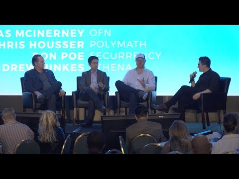 Technical Structuring Of Security Tokens Panel At The North American Bitcoin Conference