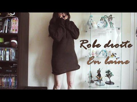 DIY ~ Robe droite en laine