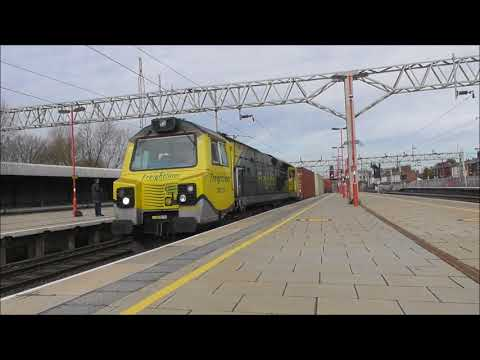 Freight Action at Stafford 9th March 2018