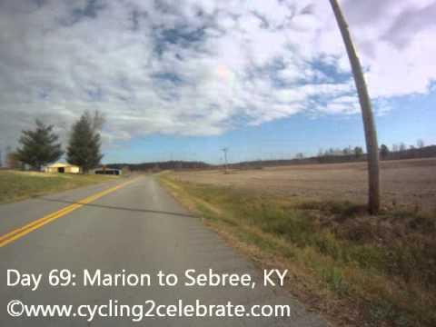 Day 69: Marion to Sebree, KY (November 6, 2011)