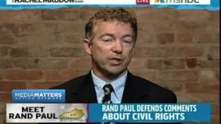 Rand Paul On Civil Rights Act of 1964