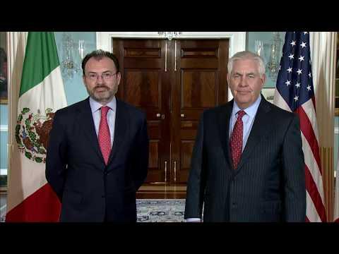 Secretary Tillerson Meets with Mexican Foreign Secretary Videgaray Caso