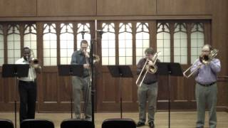 Flor Peeters - Suite: Quatuor pour 4 trombones, Op. 82: Mvt IV