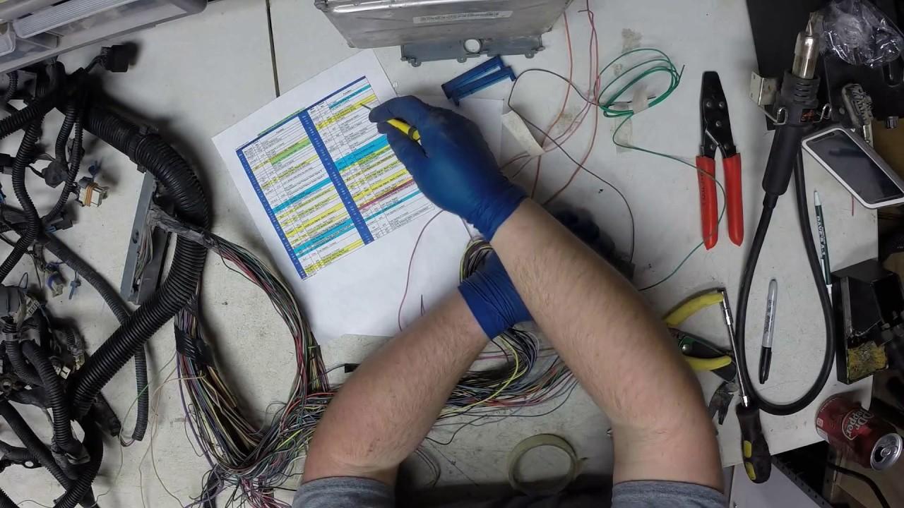 medium resolution of 2003 vortec 5 3l wiring harness rework part 1 youtube2003 vortec 5 3l wiring harness rework