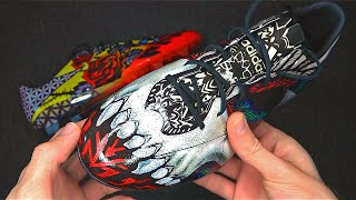 Craziest Football Boots Ever? adidas F50 Tattoo Pack LE Unboxing