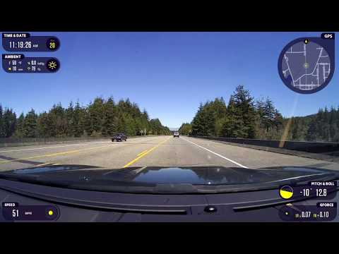 SLOW TV: Oregon Coast Dashcam footage: North Bend, Coos Bay