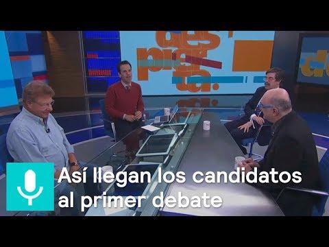 ¿Cómo llegan los candidatos al primer debate?, el análisis en Despierta - Despierta con Loret