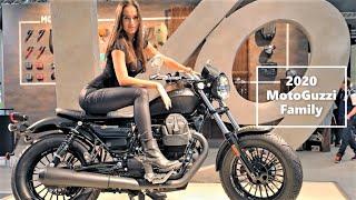 New 2020 Moto Guzzi Motorcycles Lineup