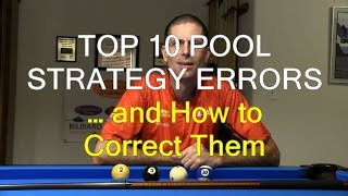 Top 10 Pool Strategy Errors Amateurs Make … and How to Prevent Them