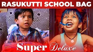 Super Deluxe Raasukutty School Bag Secrets Revealed | Kid Ashwanth FUN Interview