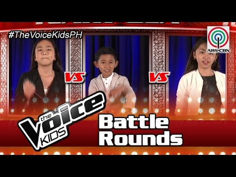 "The Voice Kids Philippines Battle Rounds 2016: ""Ngayon At Kailanman"" by Maegan, Joshua & Natalie"