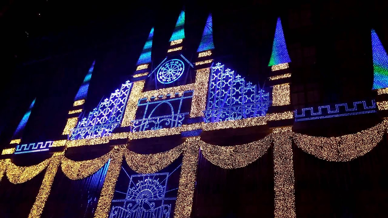 Amazing light show Rockefeller center...Christmas - YouTube