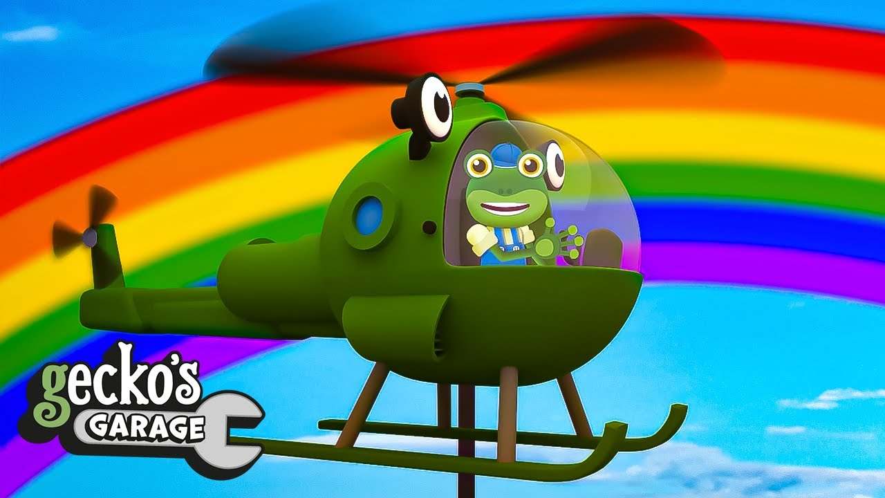Helen The Helicopter - Educational Videos for Kids