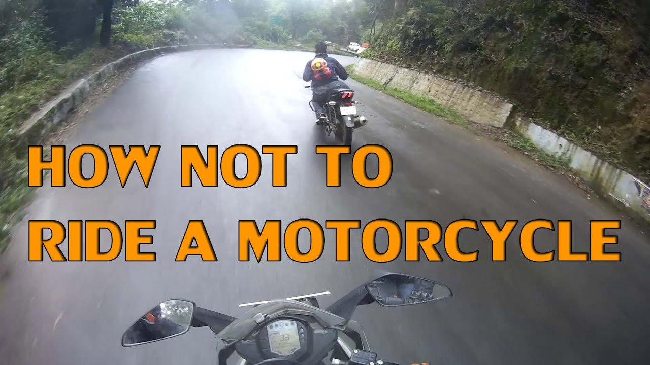 31e05fe08 How NOT to ride a motorcycle | Squid spotted | FUNNY | - YouTube