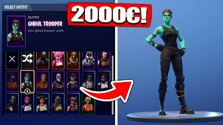 Fortnite SEASON 1 Ghoul Trooper Account get from ZUSCHAUER! - Fortnite Battle Royale