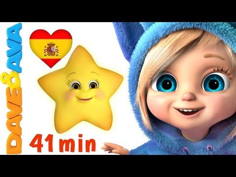 🌟  Сanciones Infantiles | Estrellita, ¿Dónde Estás? | Canciones Infantiles en Español | Dave y Ava 🌟