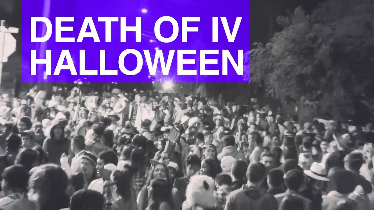 death of isla vista halloween - youtube