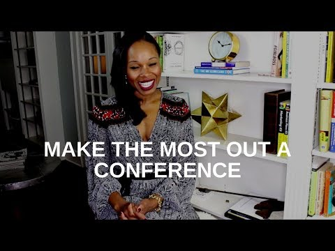 Make the Most out of a Conference - Career Advice - Adwoa Dadzie