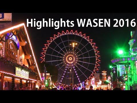 Wasen HIGHLIGHTS - HÖHEPUNKTE Cannstatter Volksfest - Stuttgart