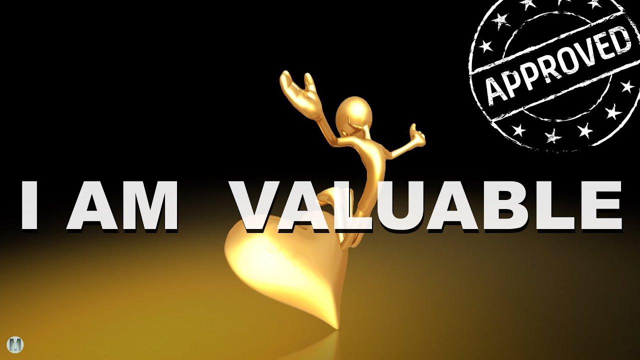 "Self-Love Affirmations ""I AM VALUABLE"" - 16 min ..."