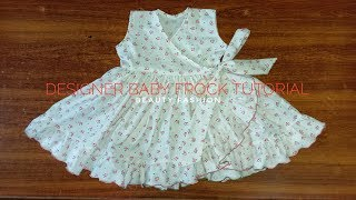 Easy stich Designer Baby Frock Tutorial || amber beauty fashion
