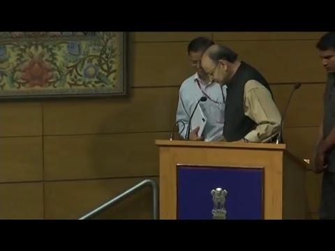 Press Conference by Shri Arun Jaitley at National Media Centre, New Delhi