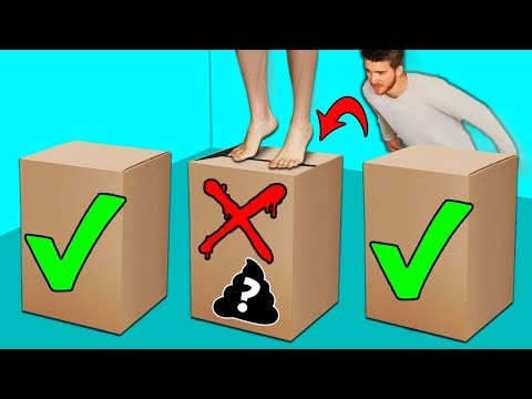 DONT Jump into the Wrong Mystery Box Challenge!!
