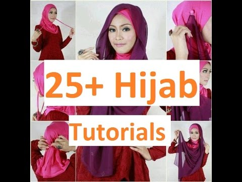 25 Modern Hijab Styles Party Wear Hijab Style Step By Step Tutorial Youtube