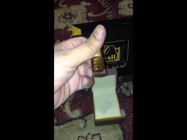 dda79ee37 تجربتي مع دهن العود الفاخر من الدخيل للعود - YouTube