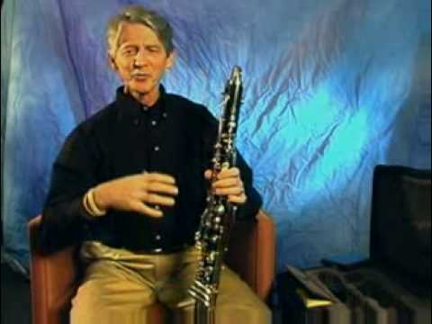 Lawrie Bloom On How To Play Bass Clarinet Part 2