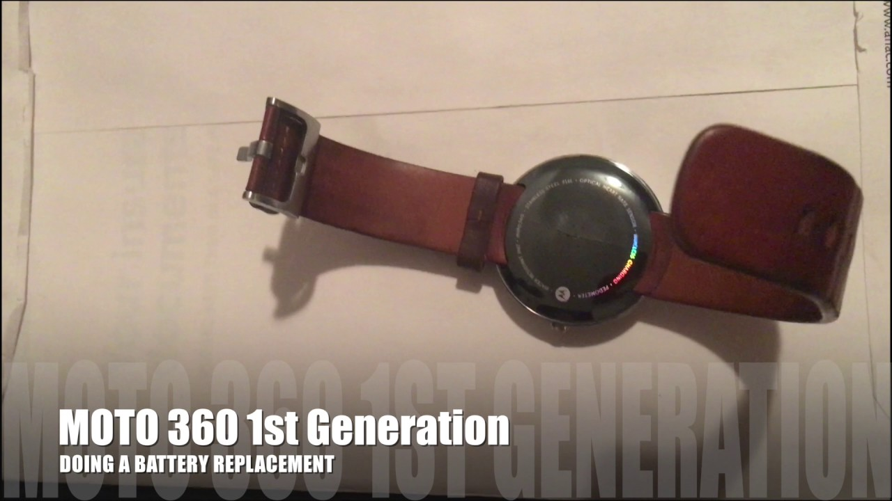low priced b54a0 3c793 MOTO 360 GENERATION 1 BATTERY REPLACEMENT FAIL @ifixit__