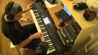 Eagles - Hotel California solo на синтезаторе