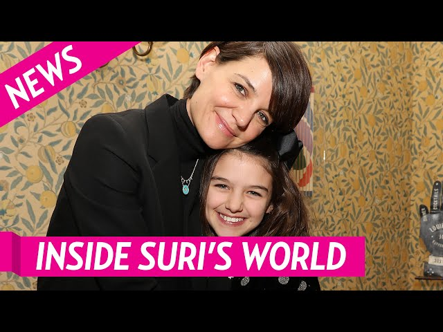 An Inside Look into the Life of Katie Holmes and Suri Cruise