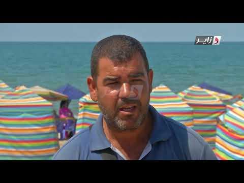 Reportages dzair news* plage Boumerdes * familes