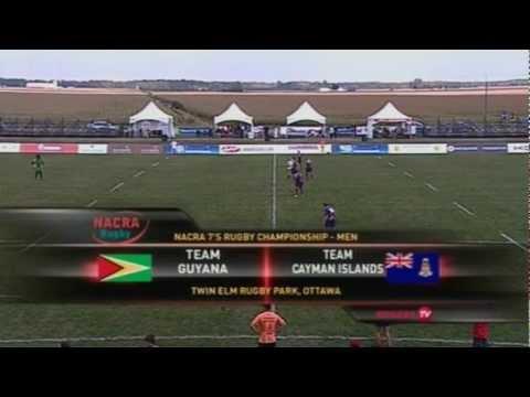 NACRA   - Game 19  - Guyana v Cayman Islands
