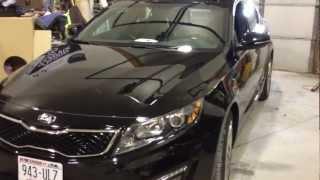 remote car starter install 2013 kia optima